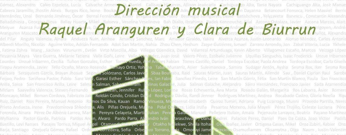 Concierto de la orquesta de flautas y coro del Instituto