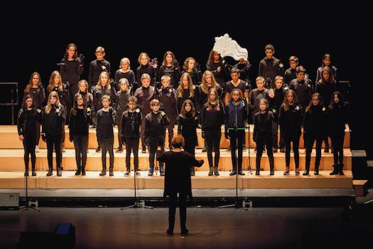 Éxito del coro de 1º de ESO en Baluarte