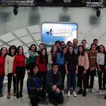 Los alumnos de LCP participan como público en un programa de televisión